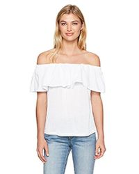 French Connection - Summer Crepe Light Ots - Lyst