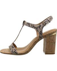 CALVIN KLEIN 205W39NYC - Crimson Heeled Sandal - Lyst