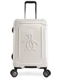 "Original Penguin - Clive 21"" Hardside Carry-on Spinner Luggage - Lyst"