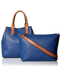 SOCIETY NEW YORK - Two In One Tote - Lyst