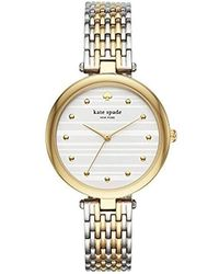 Kate Spade - Kate Spade Watches Two-tone Varick Watch - Lyst
