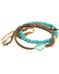 Tai - Colored Three-piece Bracelet Set - Lyst