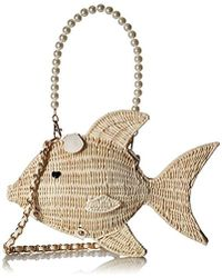 Betsey Johnson - Gone Fishin Cross-body Bag - Lyst