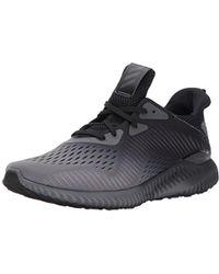 3dac4e29de75e Lyst - adidas Alphabounce Em Running Shoe 9.5 Us in Black for Men