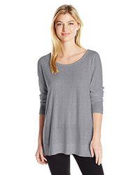 NYDJ - Scattered Rhinestone Sweater - Lyst