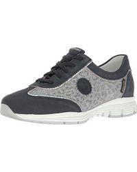 f66c1564e2 Mephisto Yael (silver Monaco/magic) Women's Lace Up Casual Shoes - Lyst
