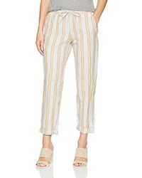 French Connection - Salana Stripe Pants - Lyst