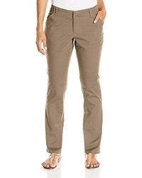 Lee Jeans - Petite Midrise-fit Essential Chino Pant - Lyst