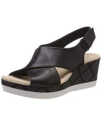 Clarks - Cammy Pearl Closed Toe Sandals - Lyst