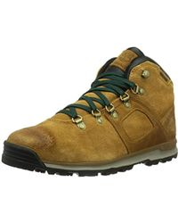 8d75c1bad420 Timberland Scramble Leather Hiking Boots in Brown for Men - Lyst