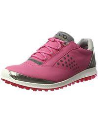 a99f00704 Ecco Biom Hybrid 3 Gore-tex Golf Shoe in White - Lyst
