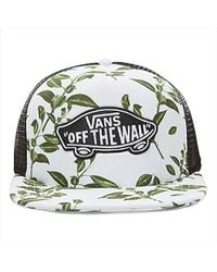 6dad092ab20 Vans Classic Patch Trucker Baseball Cap in Green for Men - Save ...