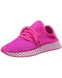 d4dec5a72efab adidas - Deerupt Runner W Running Shoes - Lyst