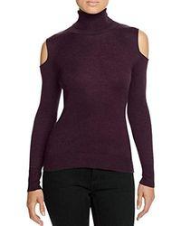 T Tahari - Flynn Cold-shoulder Sweater - Lyst