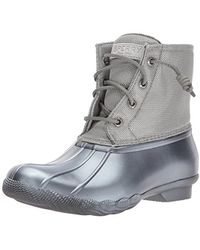 Sperry Top-Sider - Saltwater Pearlized Rain Boot - Lyst