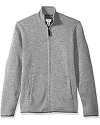 Dockers - Full Zip Sweater Fleece - Lyst