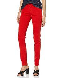 Love Moschino Pantalon - Skinny - - Rouge