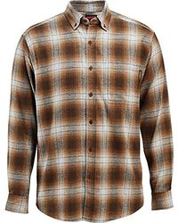 65bba6612c Wolverine - Hammond Long Sleeve Two Sided Brushed Flannel Shirt - Lyst