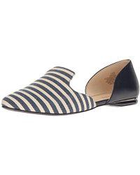 Nine West - Shay Fabric Pointed Toe Flat - Lyst