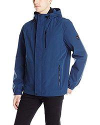 Calvin Klein - Laminated Soft-shell Jacket - Lyst