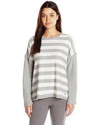 Nautica - Sweater Knit Lounge Top - Lyst