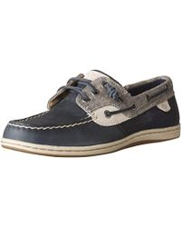 Sperry Top-Sider - Songfish Chambray Boat Shoe - Lyst