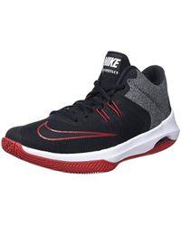 AIR VERSITILE II - Basketballschuh - black/white/gym red yrdvlU7