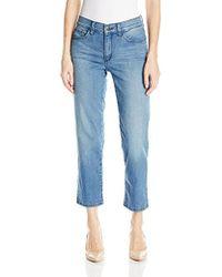 NYDJ - Marilyn Relaxed Capri Jeans, - Lyst