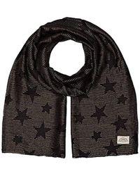 Levi's - Lurex Stars Wrap Scarf (noir Regular Black 59), One (manufacturer Size: Un) - Lyst