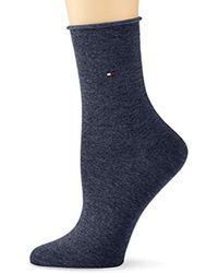 Tommy Hilfiger - Th Women 98% Cotton Sock 1p Calf Socks - Lyst