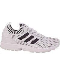 wholesale dealer 4499c 60eb6 adidas Zx Flux J in White for Men - Save 32% - Lyst