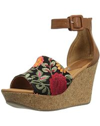 Kenneth Cole Reaction - Sole Quest Wedge Sandal - Lyst