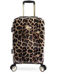 "Bebe - Adriana 21"" Hardside Carry-on Spinner Luggage - Lyst"