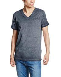 DIESEL T- Diego-Pearls T-Shirt Homme - Bleu