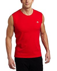 Champion - Jersey Muscle T-shirt - Lyst