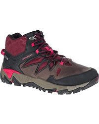 Merrell - All Out Blaze 2 Mid Waterproof Hiking Boot - Lyst