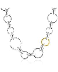 Gurhan - Wheatla Sterling Silver All-around Chain Necklace - Lyst