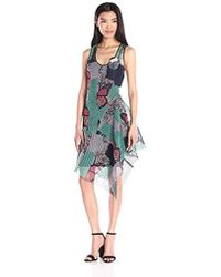 Clover Canyon - Sportswear Butterfly Garden Mesh Dress - Lyst