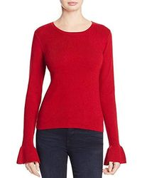 Cupcakes And Cashmere - Tina Bell Sleeve Sweater - Lyst