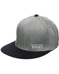 82807b9a82e Vans Classic Patch Trucker Cap in Black for Men - Lyst