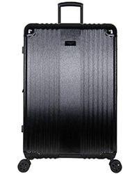 "Kenneth Cole - 28"" Abs With Brushed Pc Film Expandable 8-wheel Checked Luggage With Tsa Lock - Lyst"