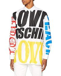 Love Moschino - Hemd Bluse Chemise Casual Homme - Lyst