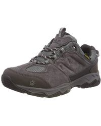 Jack Wolfskin Mtn Attack 5 Texapore Low W Rise Hiking Shoes in Gray ... e140012015