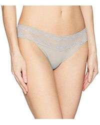 Natori - Bliss Perfection: O/s Thong - Lyst