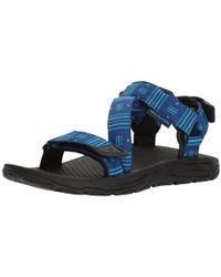ColumbiaBIG WATER - Walking sandals - royal/aqua blue pQud3