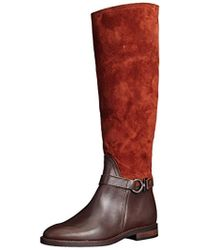 98ea91a4b0d3 Marc O polo - Flat Heel Long Boot 70814228002311 Ankle Riding - Lyst