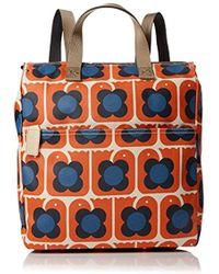 Orla Kiely - Love Birds Print Backpack Bag - Lyst