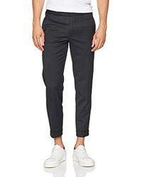 Filippa K - M. Terry Gabardine Cropped Trousers - Lyst