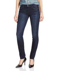 Joe's Jeans - Cigarette Midrise Straight Leg Jean - Lyst