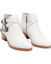 Frye - Ray Western Shootie Ankle Boot - Lyst